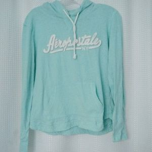 Aeropostale Lightweight Hoodie Girls Large